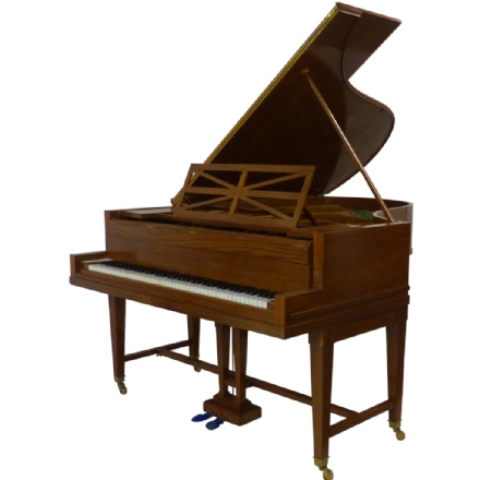 "C. Bechstein Model ""B"" (6' 8"") Grand Piano Satinwood c1913"